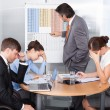 Coworkers Getting Bored — Stock Photo