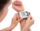 Person Checking Blood Pressure — Stock Photo