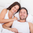 Couple In Bed — Stock Photo #35621527