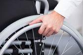 Businessman On Wheelchair — Stock Photo