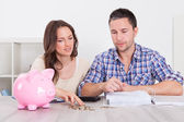 Couple Saving Money — Stock Photo