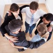 Businesspeople Making Huddle — Stock Photo #39130567