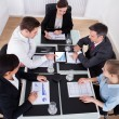 Businesspeople Discussing In Meeting — Stock Photo