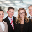 Stock Photo: Group of business professionals