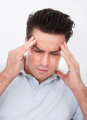 Young Man With Headache — Stock Photo