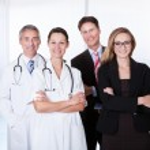 Professional Hospital Staff — Stock Photo