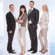 Portrait Of Businesspeople Group — Stock Photo