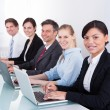 Businesspeople Using On Laptop — Stock Photo #39410577