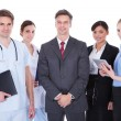 Постер, плакат: Group Of Businesspeople And Doctors
