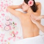 traitement de massage pour femme — Photo