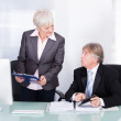 Two Business People Planning — Stock Photo #39414785