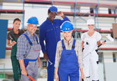 People Representing Diverse Professions — Stock Photo