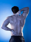 Man Suffering From Back Pain — Stock Photo