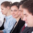 Businesswoman With Her Colleagues — Stock Photo