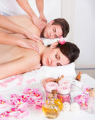 Couple In Spa Salon — Stock Photo