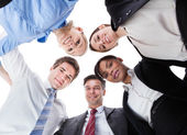 Businesspeople Looking Down — Stock Photo