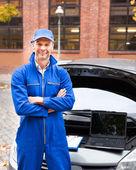 Male Car Mechanic — Stockfoto