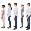 Group Of People In Queue — Stock Photo #41475135