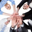 Stock Photo: Business People Stacking Hands