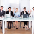 Stock Photo: Businesspeople In Conference