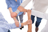 Group Of People Holding Hand — Stock Photo