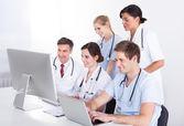 Doctors At Hospital — Stockfoto
