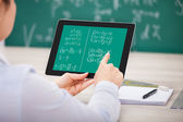Student Learning Mathematical Equations — Stock Photo