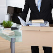 Businessman moving offices — Stock Photo #43674753