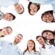 Large diverse multiethnic medical team — Stock Photo #44069221