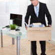 Dejected businessman made redundant — Stock Photo #44071437