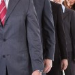 Business people standing in row — Stock Photo #44589481