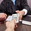Judge Taking Bribe From Client — Stock Photo #44590353