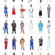 Multiethnic People With Various Occupations — Stock Photo #46203447