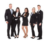 Portrait Of Welldressed Businesspeople — Stock Photo