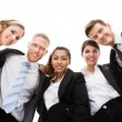Low Angle Portrait Of Business People — Stock Photo #46619999