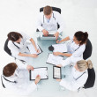 Doctors Analyzing Medical Records — Stock Photo #46620129
