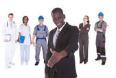 People With Different Occupations — Stock Photo
