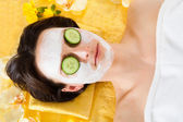 Woman With Face In Beauty Spa — Stock Photo