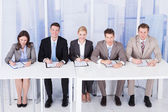 Corporate Personnel Officers — Stock Photo