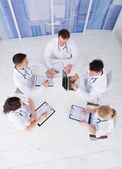 Doctors Having Conference Meeting — Stock Photo