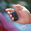 Man Holding Car Key — Stock Photo #49569765