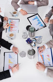 Business People At Conference Table — Stock Photo