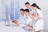 Doctors Working Together — Stock Photo
