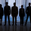 Silhouettes of Business People — Stock Photo #50343711