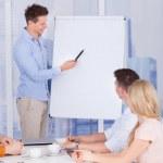 Businessman Giving Presentation — Stock Photo #50343955