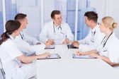 Doctors Having Conference — Stock Photo