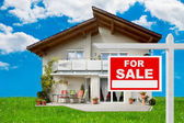 Sale Of House — Stock Photo