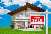 Försäljning av hus — Stockfoto