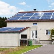 House With Solar Panels — Stock Photo #50864443