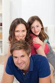 Playful Family — Stock Photo